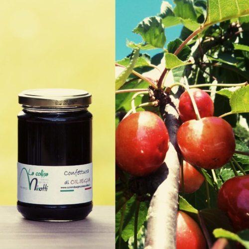 confettura extra di ciliegia azienda agricola la collina di francesco minotti